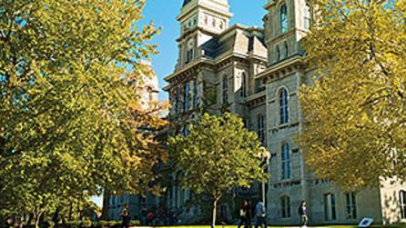 Fall Syracuse University Campus - Wainwright