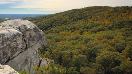 View from Mohonk Preserve's Bonticou Crag photo by MICHAEL NEIL O'DONNELL