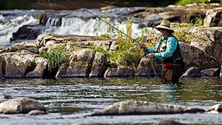 Fly Fishing - West Branch of Ausable River