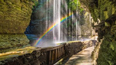 Waterfall at Watkins Glen State Park