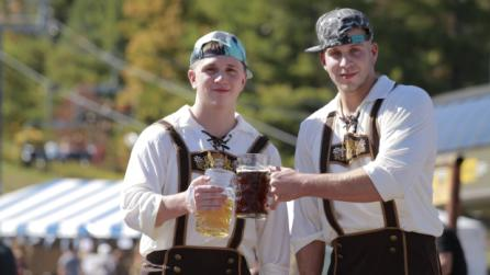 Oktoberfest beer at Hunter Mountain
