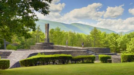 Opus 40 environmental sculpture in Saugerties, New York