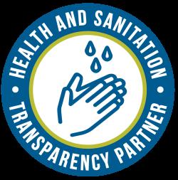 Health & Sanitation Transparency Partner Seal