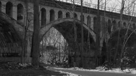 The Haunted Bridge in Avon