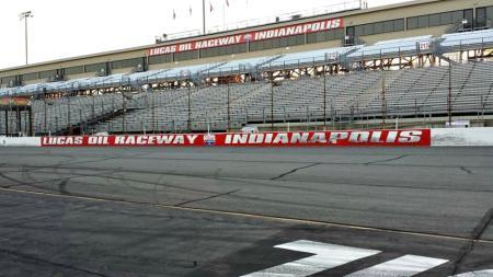 Lucas Oil Raceway Oval Track