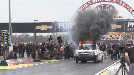 Ultimate Callout Challenge at Lucas Oil Raceway (Photo courtesy of the Ultimate Callout Challenge Facebook page)