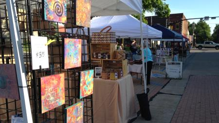 Fair on the Square and Handmade Market on Courthouse Square in Danville