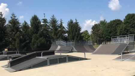 Anderson Skate Park Plainfield