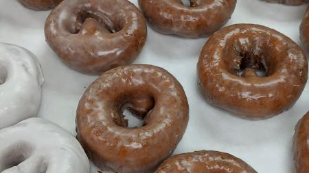 Pumpkin spice cake donuts at Reds Donuts (Photo courtesy of Reds Donuts Facebook Page)