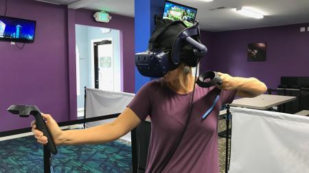 Virtual Galaxy Cafe, virtual reality, Jamie Hergott