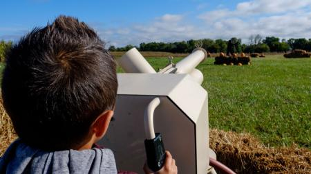 Apple Cannons at Beasley's Orchard