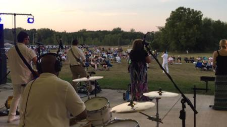 Concert by the Creek at Washington Township Park (Photo courtesy of the Washington Township Parks & Recreation Facebook Page)