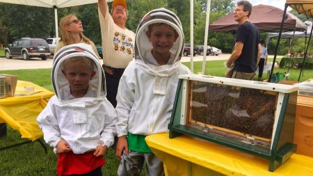Learn about beekeeping at the McCloud Bee Fest