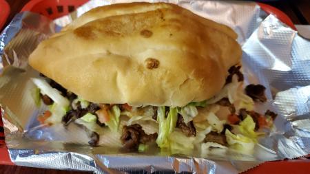 mexican food torta at el ocho loco in erlanger ky