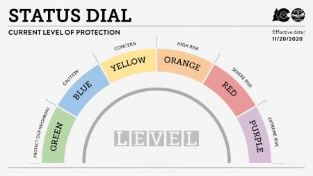 Safer at home Dial Framework