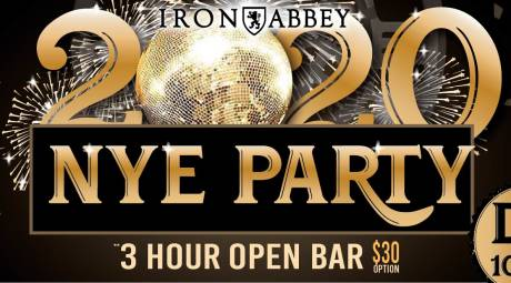 Iron Abbey New Years Eve Party