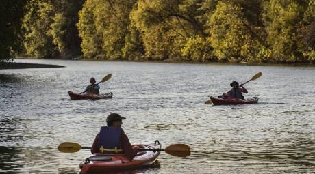 Schuylkill River Kayaking in Fall