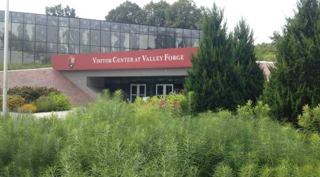 Arrived: Visitors Center at Valley Forge