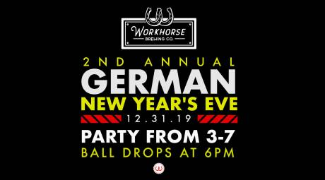 Workhorse Brewery New Year's Eve