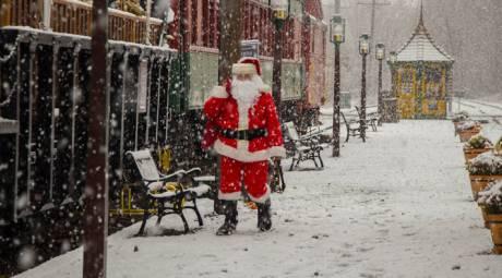 Colebrookdale Railroad Santa Claus