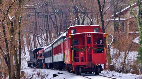 NEW YEARS EVE - COLEBROOKDALE RAILROAD