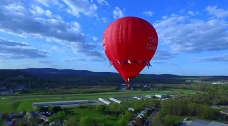BALLOON RIDES DAILY BY U.S. HOT AIR BALLOON TEAM