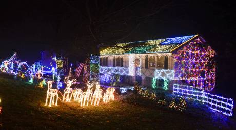 Collegeville Holiday Lights