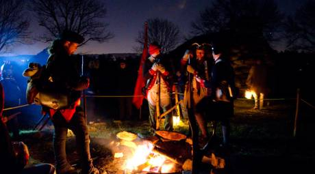 Valley Forge Park Annual Events - March in the Continental Army