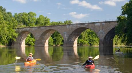 SPRING HIGHLIGHTS - KAYAKING ON THE SCHUYLKILL RIVER