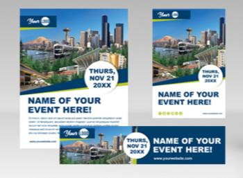 Meeting Planner Flyer Postcard Email Signature