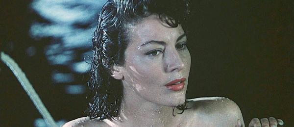 Ava Gardner stars in Pandora and the Flying Dutchman.