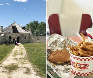 Day Trip to Lower Fort Garry and Half Moon Drive In