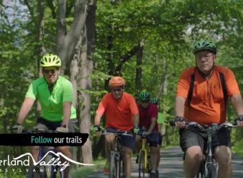 Biking in the Cumberland Valley