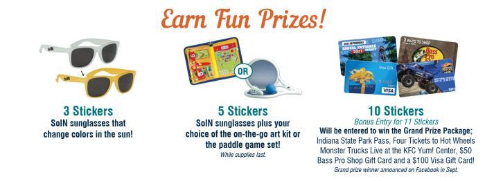 Fun Trail Prizes
