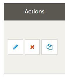 Adding Media - Actions Icon