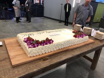 Natl Sports Forum Cake