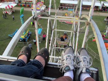 Kenosha County Fair ferris wheel