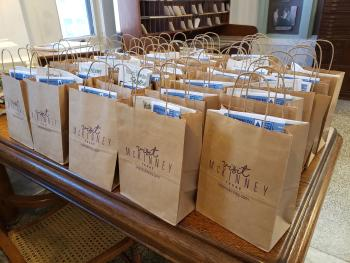 Visitor Services bags