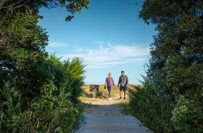 Basin Trail at Fort Fisher Recreation Area