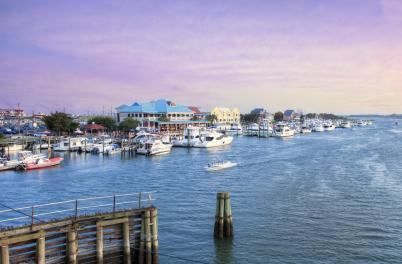 Wrightsville Beach Intracoastal Waterway and Marina
