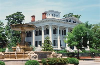 Bellamy Mansion Museum & Kenan Fountain