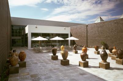 Cameron Art Museum Courtyard