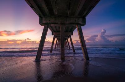 Johnnie Mercers Pier Sunrise