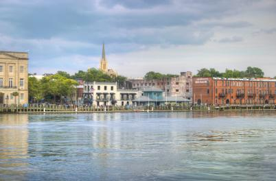 Wilmington Riverfront Skyline