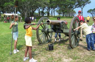 Kids and Cannon