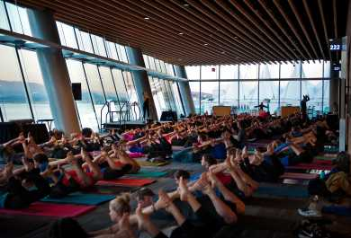 Yoga at VCC