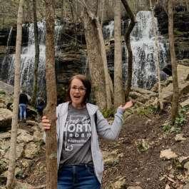 Melea Hames at Bethel Spring