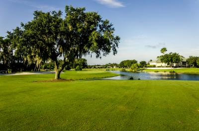 A beautiful day at Cranes Lake Golf Course
