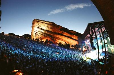 Red Rocks Amphitheater Concert in Golden, CO