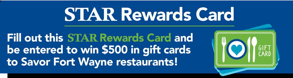 STAR Rewards Card